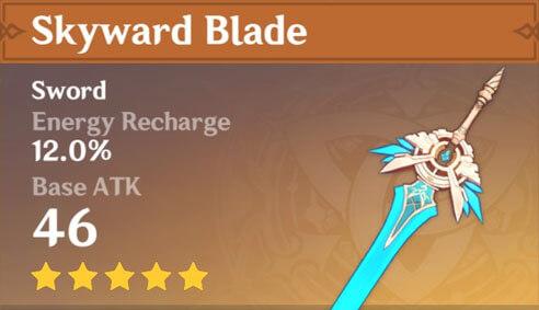 Genshin Impact Skyward Blade