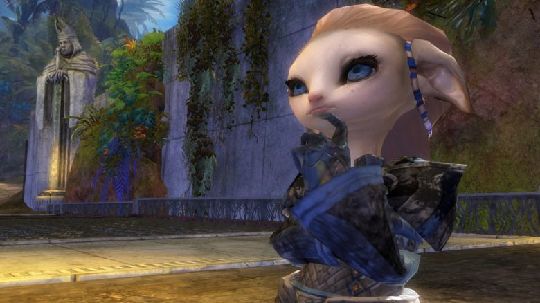 Guild Wars 2 Asura Glenna Thinking