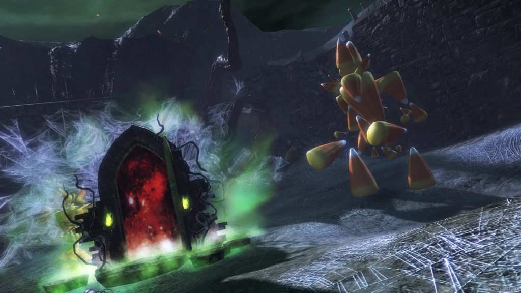 Guild Wars 2 Halloween Labyrinth Doors