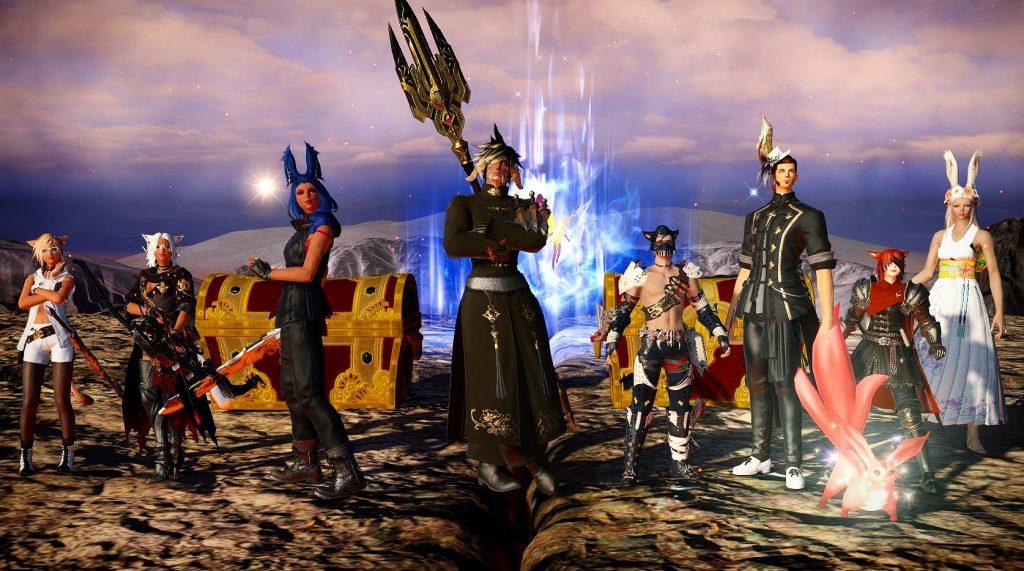 final fantasy xiv raid kill screenshot