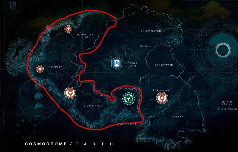 Kosmodrom Location Destiny 1 Vergeich Beyond Light