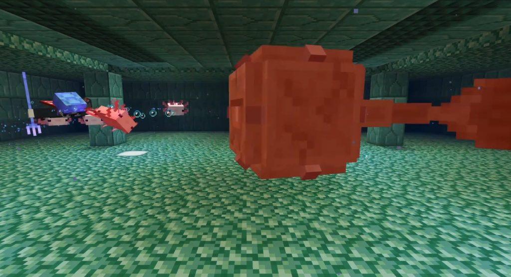 Minecraft Axolotl Kampf Wächter