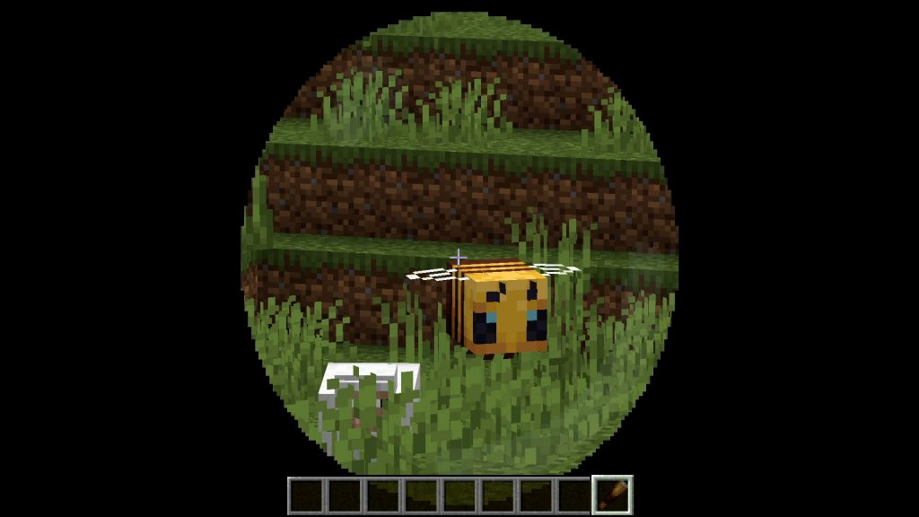 Minecraft-Fernrohr