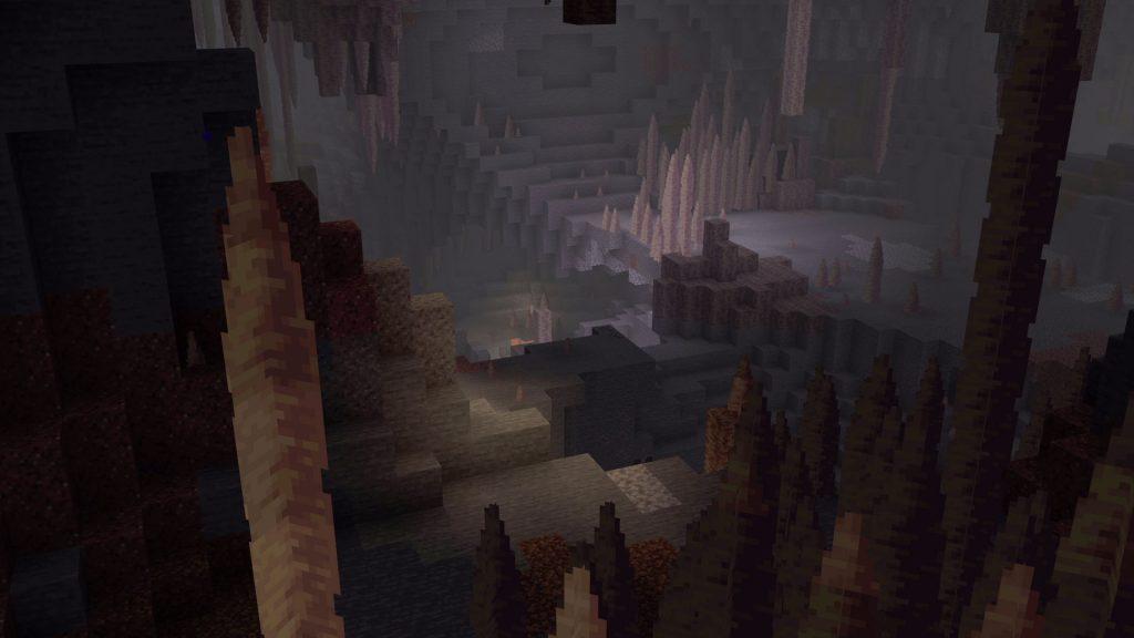 Minecraft-Stalagtiten