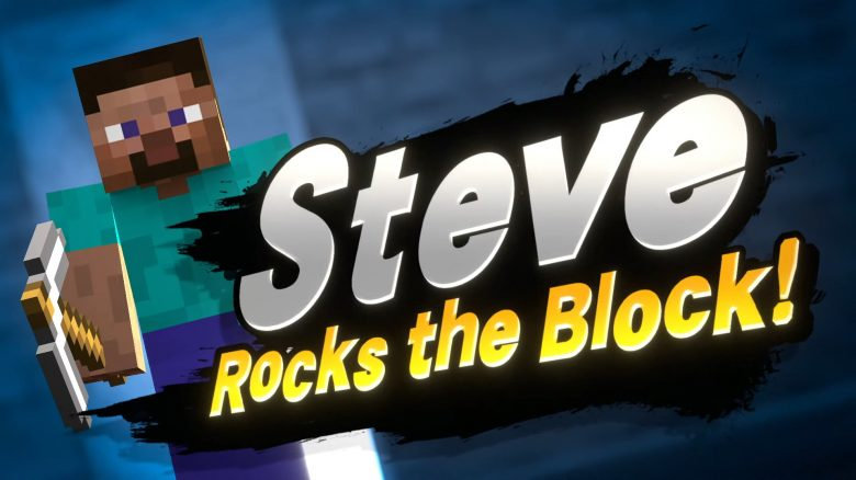 Minecraft Steve Rocks The Block titel title