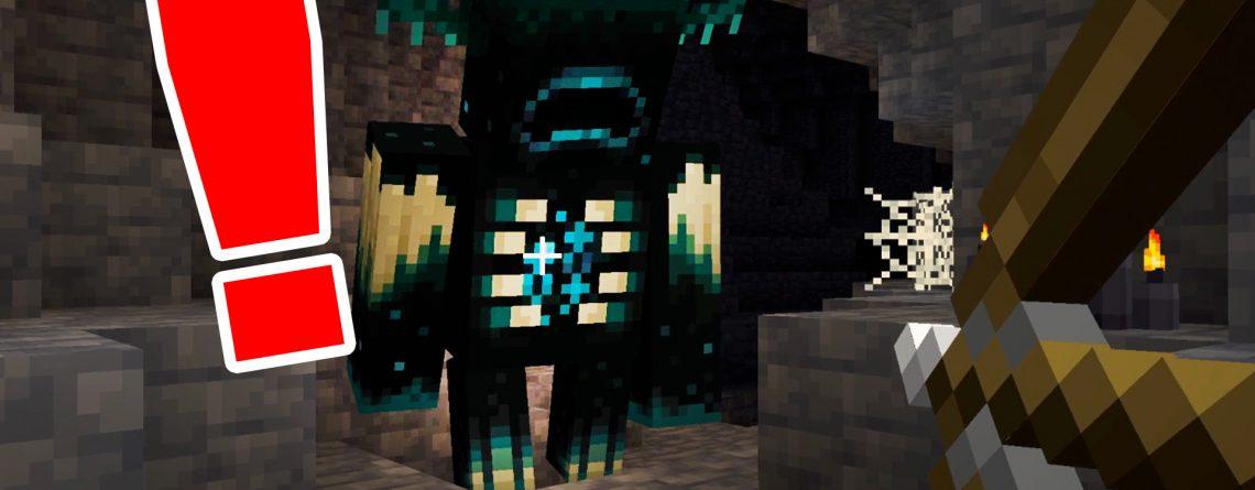 Minecraft Warden Titel