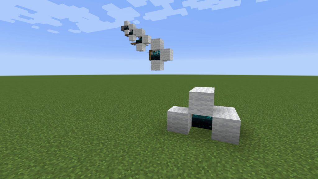 Minecraft-Wireless-Trap-Door