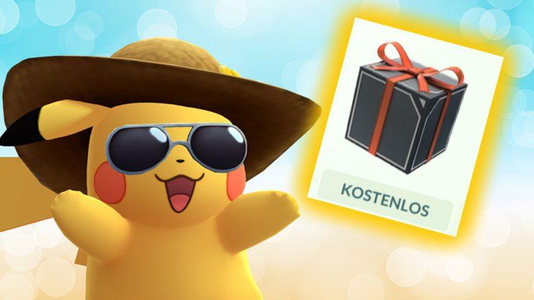 Pokémon GO Box Kostenlos Titel