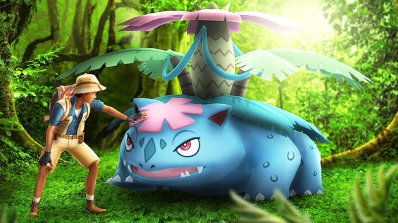 Pokémon GO Mega Bisaflor Titel