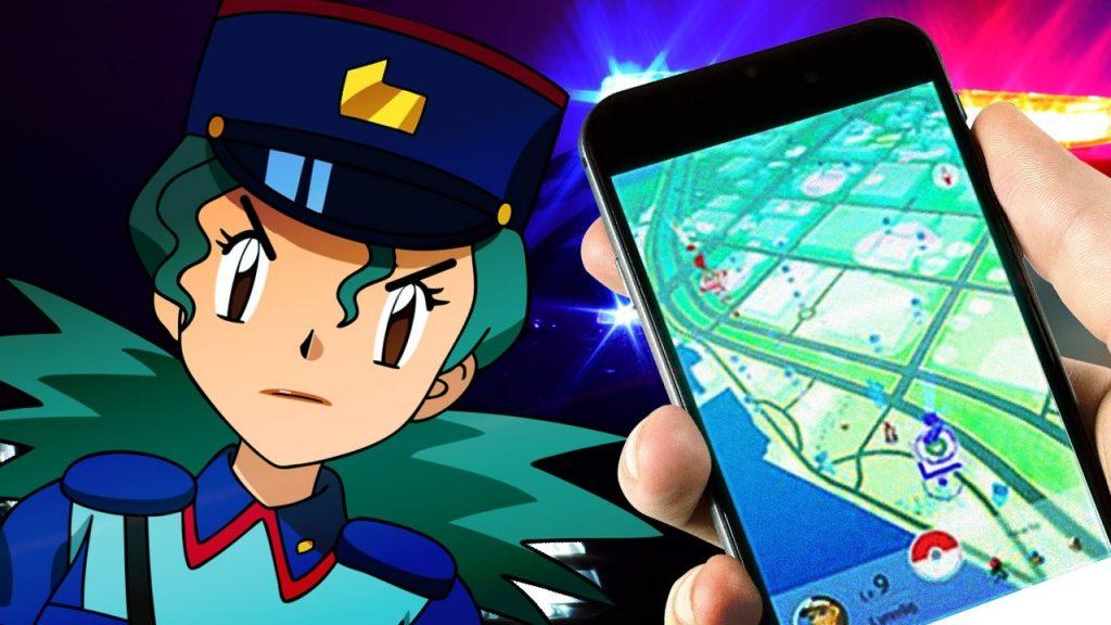 Pokémon GO Officer Rocky