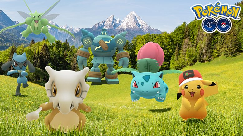 Pokémon GO Zeichentrick Titel