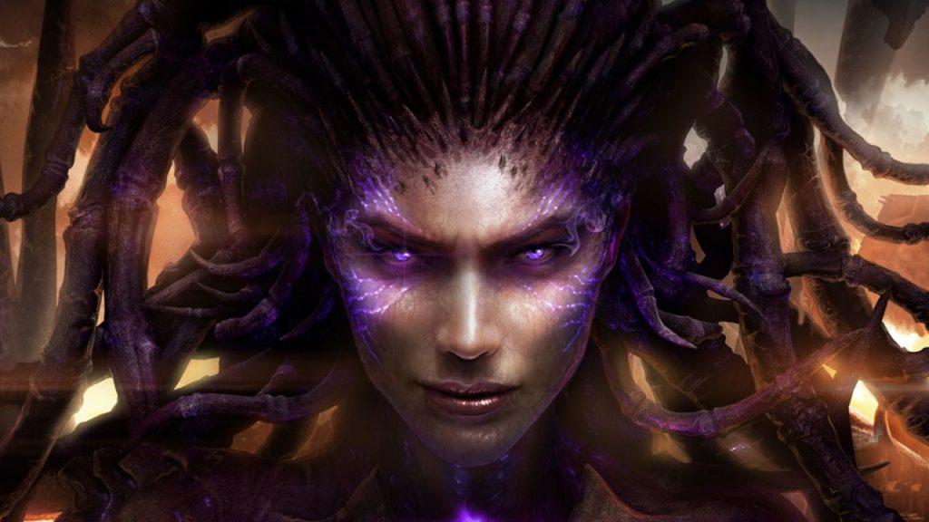 StarCraft 2 Sarah Kerrigan Zerg title titel 1280x720