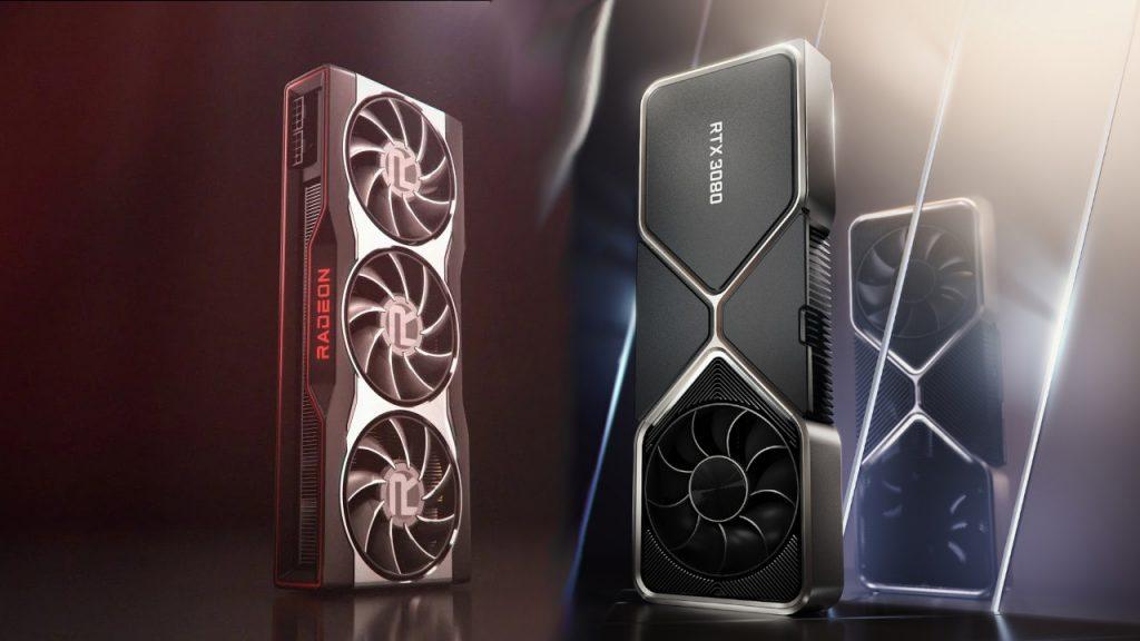 Titelbild AMD und Nvidia Grafikkarten