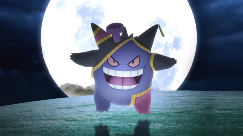 Gengar Halloween Pokemon GO