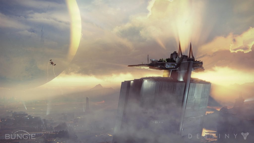 Turm Last City Traveler Destiny Titel