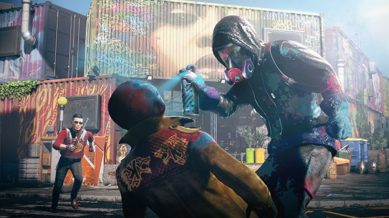 Watch Dogs Legion Spray Titel