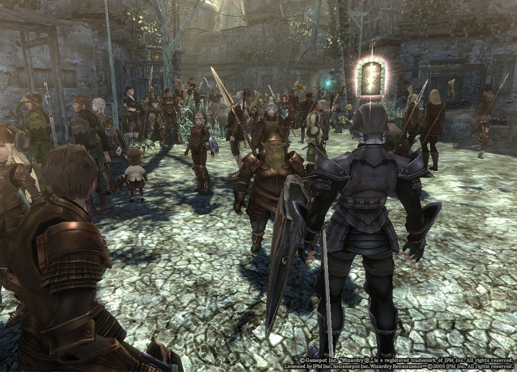 Wizardry Online Screenshot