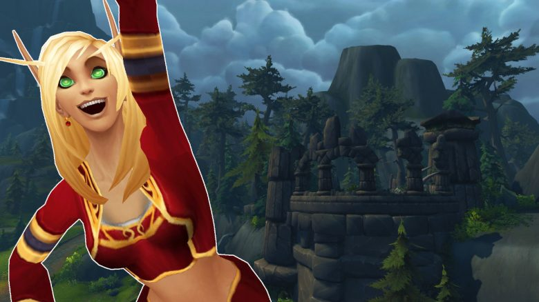 WoW Cheer Blood Elf Exiles Reach title titel 1280x720