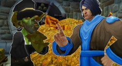 WoW GM Game Master Goblin cry gold titel title 1280x720