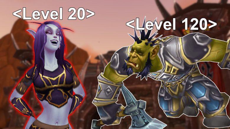 WoW: Verrückt – Kleiner Spieler auf Level 20 zerlegt Level-120-Chars