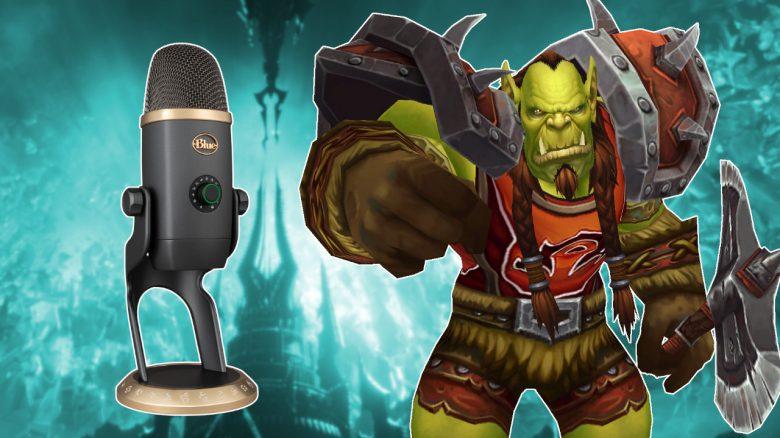 WoW: Raiden als Orc? Mit diesem Mikro habt ihr sogar die passende Stimme