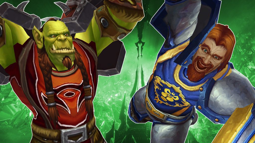 WoW Orc Human cheer titel title 1280x720