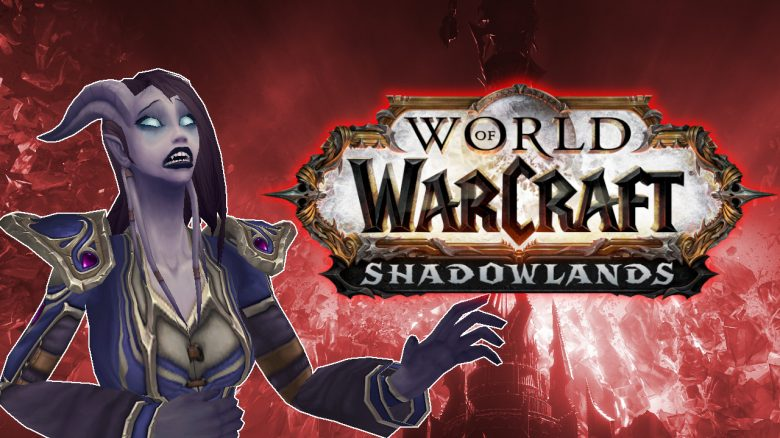 WoW Shadowlands Draenei Pain titel title 1280x720