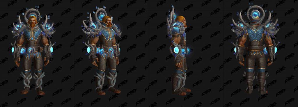 WoW Shadowlands Pakte Rüstung Nightfae Leder wowhead