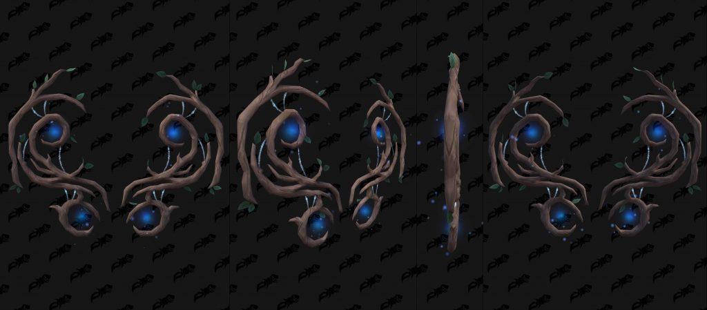 WoW Shadowlands Pakte Rüstung Nightfae Rücken wowhead