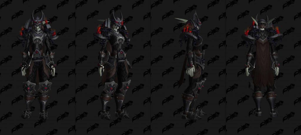 WoW Shadowlands Pakte Rüstung Venthyr Kette wowhead