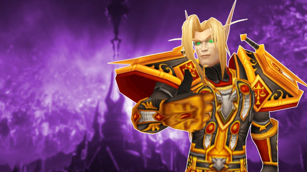 WoW Shadowlands Paladin Thumbs Up title titel 1280x720
