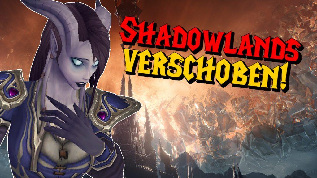 WoW Shadowlands Release verschoben titel title 1280x720