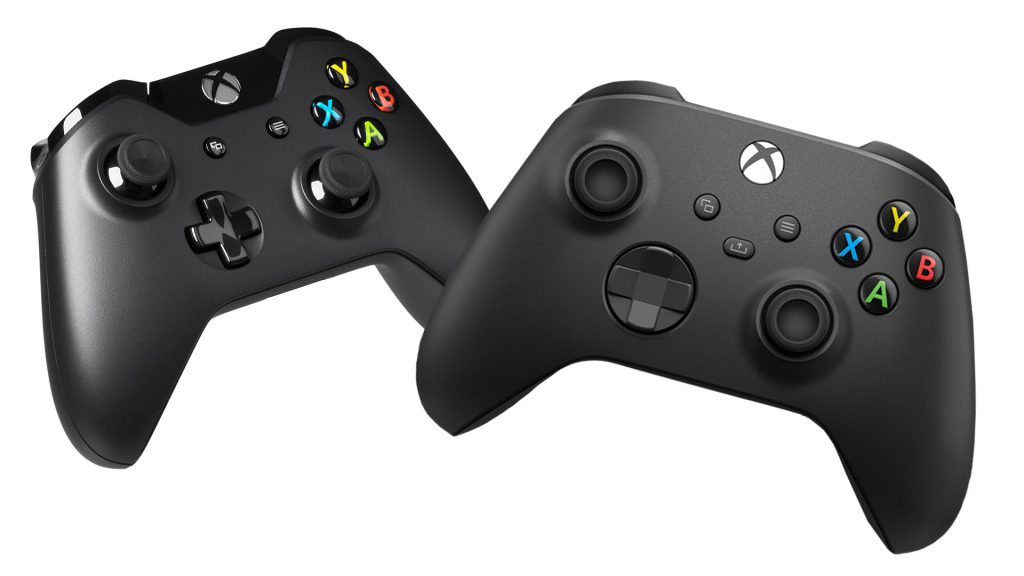Xbox One X Series X Controller Vergleich