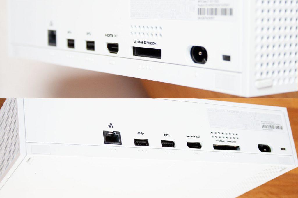 Xbox-Series-S-Anschlüsse