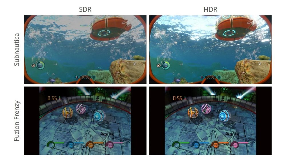 Xbox Series X Series S Vergleich Auto HDR