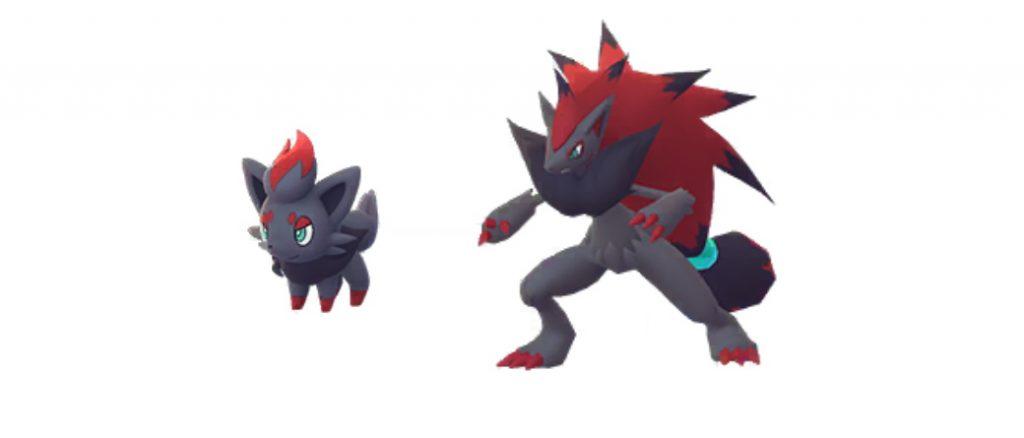 Zorua und Zoroark Pokemon GO