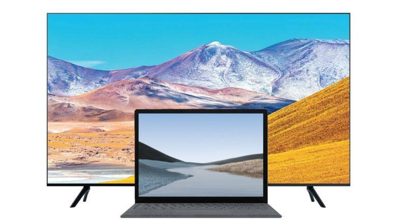 Samsung-TVs ab 339 €, Surface Laptop 3 für 828 € und mehr bei Amazon