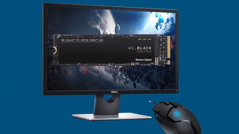 Schnelle SSD, Low-Budget Spiele-Monitor & mehr reduziert bei Cyberport