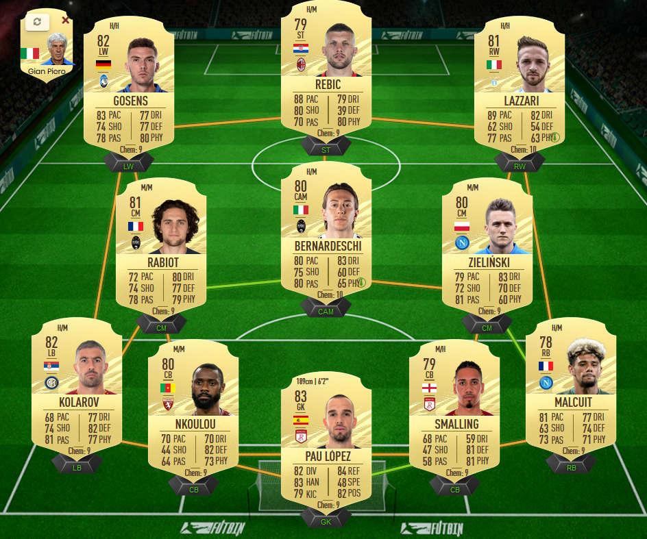 fifa 21 serie A team billig einstieg