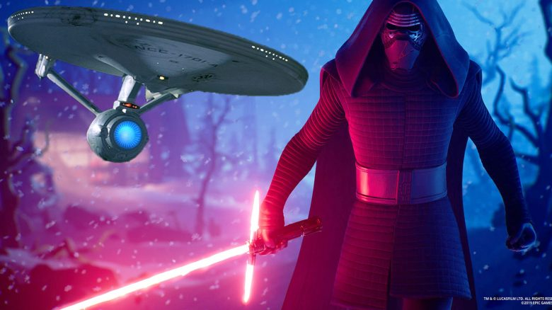 fortnite star trek star wars titel