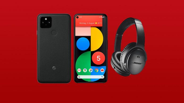 Google Pixel 5 vorbestellen & Bose-Kopfhörer gratis erhalten