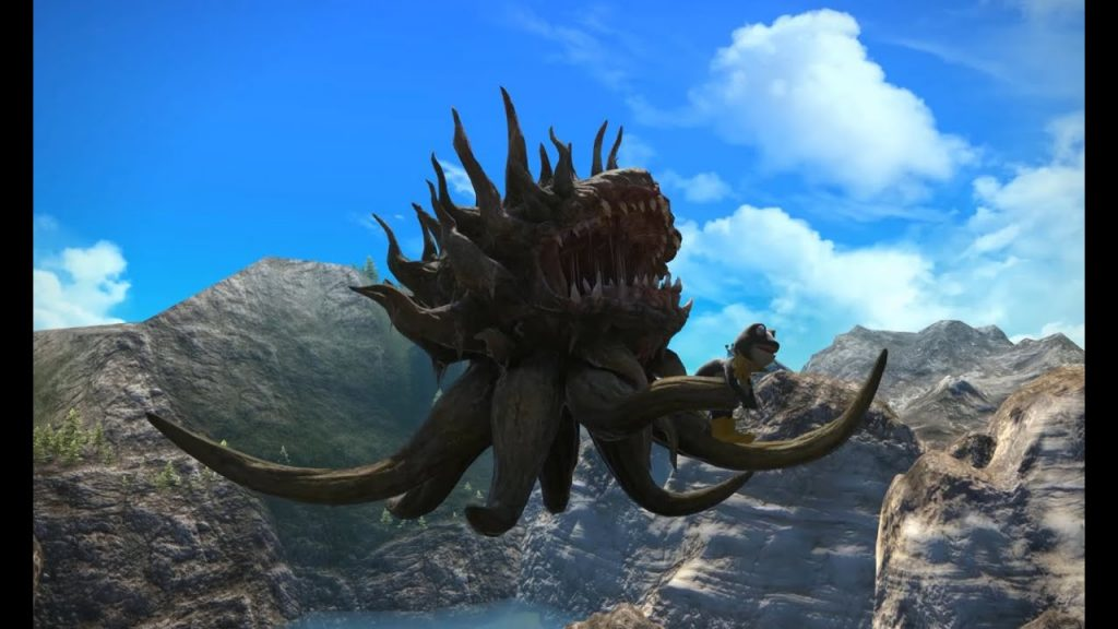 final fantasy xv morbol mount