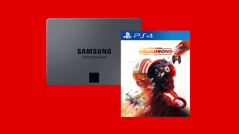 Bestpreis: Samsung-SSD und Star Wars: Squadrons (PS4) bei MediaMarkt