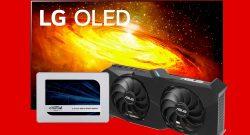 OLED-TV von LG zum Bestpreis, SSDs und mehr reduziert bei MediaMarkt