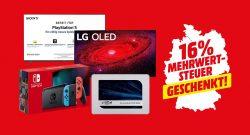 MediaMarkt Mehrwertsteueraktion: Die besten Angebote