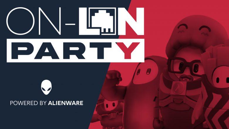 Natascha, Julius, Fixx & der Heider auf der On-LAN-Party von Alienware