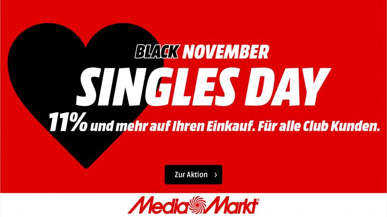 Singles Day bei MediaMarkt mit gutem 4K-TV für PS5 und Xbox Series X