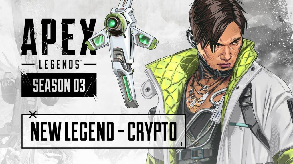 APEX Legends Saison 3 - neue Legende Crypto