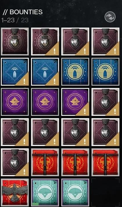 Beutezüge Bounties Destiny 2