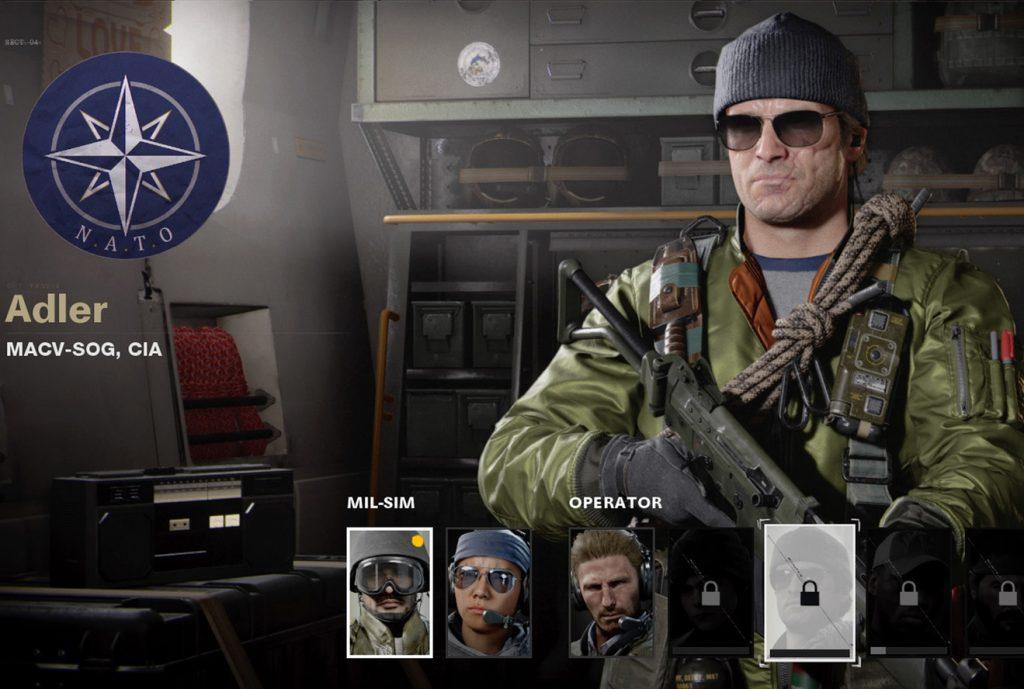 CoD Cold War Operator Adler